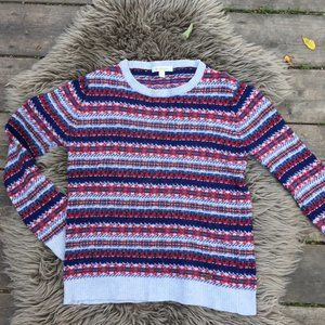 Barbour wool cashmere fair isle sweater - size 6